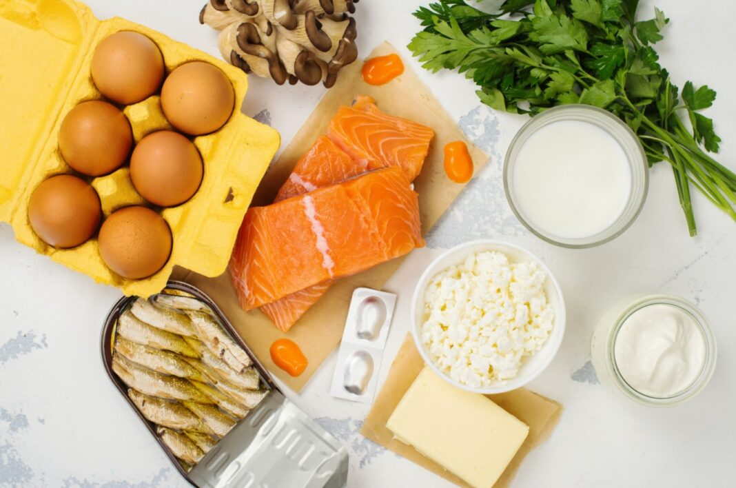 Aliments avec des vitamines D