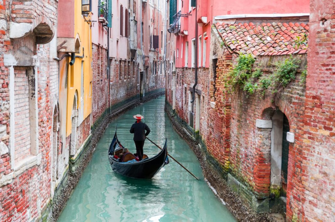 Bateau à Venise
